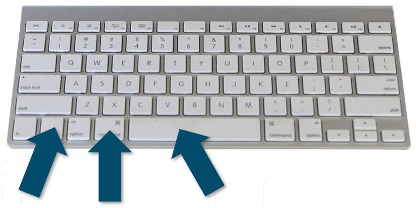 Apuyez sur contrôle, commande et barre d'espace pour accéder aux émoticônes