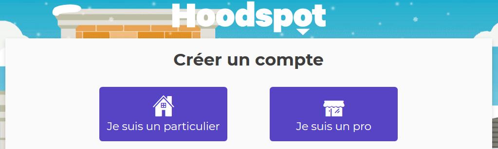Créer un compte Hoodspot pour gérer les avis des internautes.